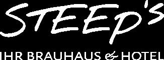 Das Steep's – Ihr Brauhaus und Hotel - Logo